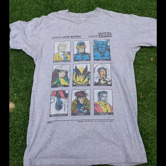 """Other - X-Men """"class of 91"""" faded tee"""